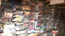 Large collection of VHS Videotapes