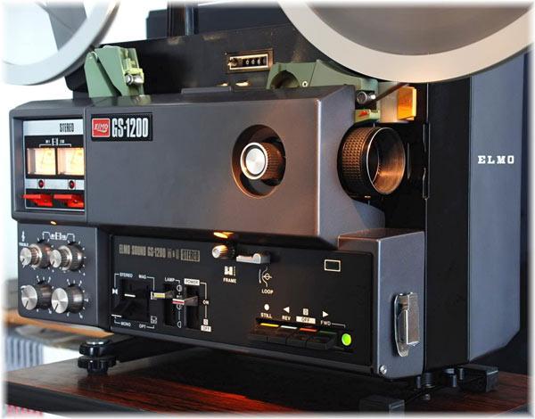 An Elmo Cine Film Projector