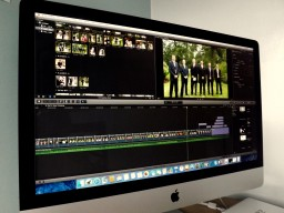Final Cut Pro X on iMac