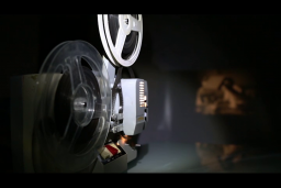 A 16mm Cine Projector