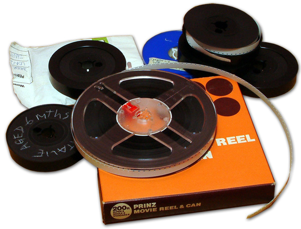 A collection of Super 8 films