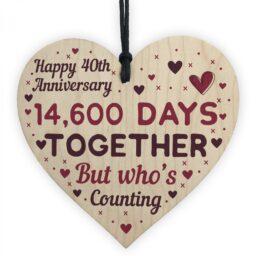 40th Wedding Anniversary Pendant
