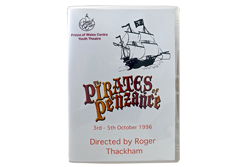 The DVD of 'The Pirates of Penzance' by the Prince of Wales Youth Theatre