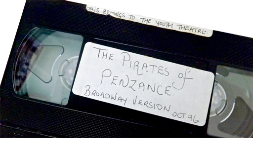 This is the VHS video of a performance by the Prince of Wales Youth Theatre