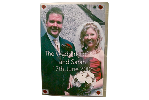 This is the DVD of the Wedding of Karl Lehmann and Sarah Pagett